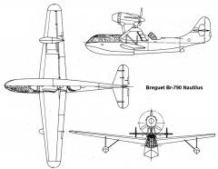 br790 nautilus 3v model airplane plan