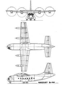 br941 3v model airplane plan