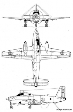 breguet br 1050 alize model airplane plan