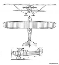 breguet br 19 pointdinterrogation model airplane plan
