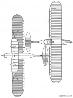 breguet br 27 2 model airplane plan