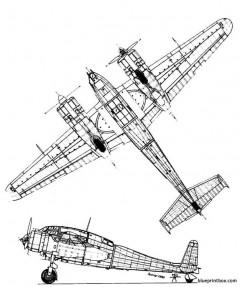 breguet br 695 2 model airplane plan
