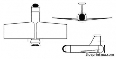 brevel model airplane plan