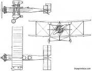 bristol 92 1925 england model airplane plan