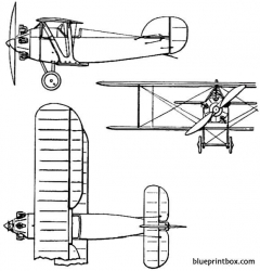 bristol babe 1919 england model airplane plan