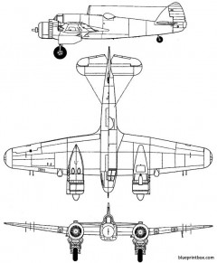 bristol beaufighter mk i model airplane plan
