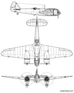 bristol blenheim mk i model airplane plan