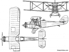 bristol boarhound 1925 england model airplane plan