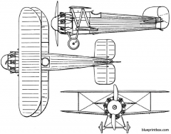 bristol bullet 1920 england model airplane plan
