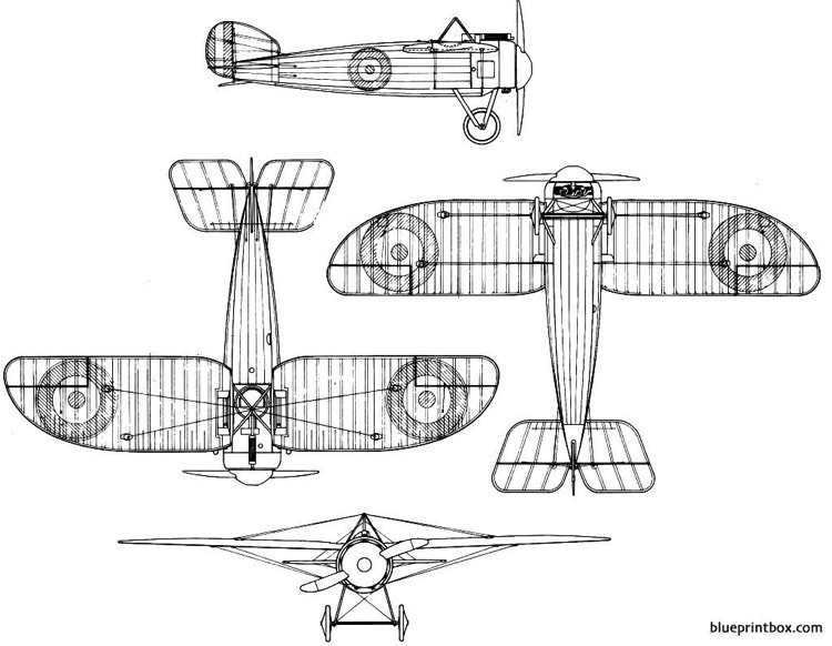 bristol m 1 bullet model airplane plan