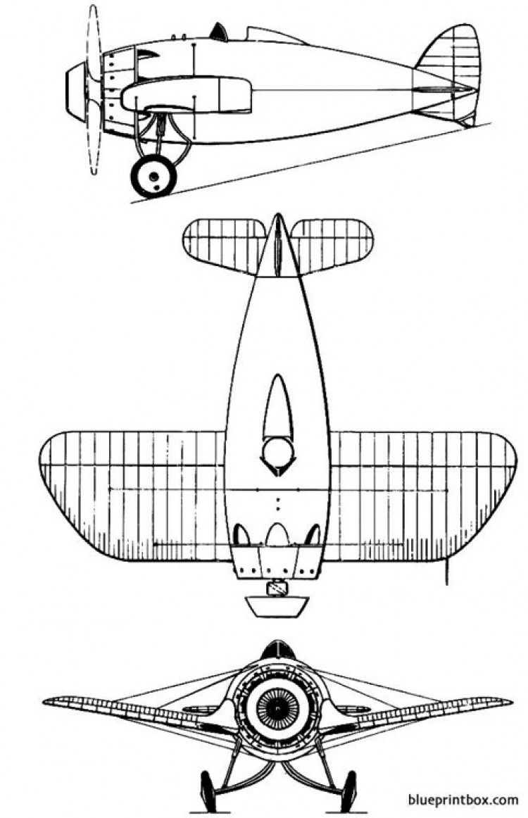 bristol racer model airplane plan