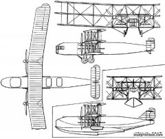 bristol tramp 1921 england model airplane plan