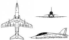 british aerospace hawk model airplane plan