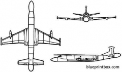british aerospace nimrod aew3 model airplane plan