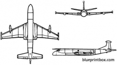 british aerospace nimrod r1 model airplane plan