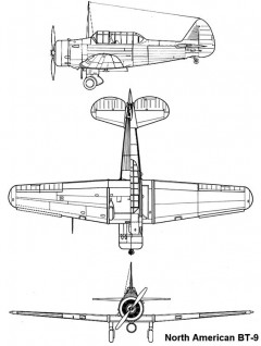 bt9 3v model airplane plan