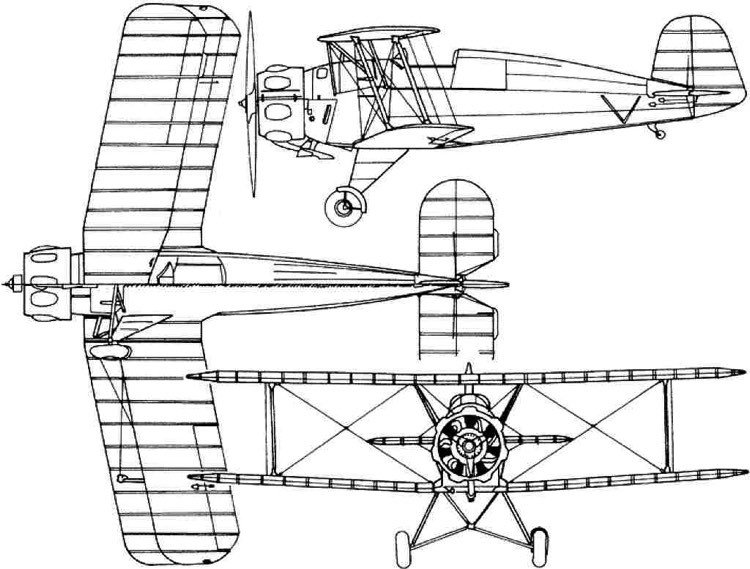 bu133 3v model airplane plan