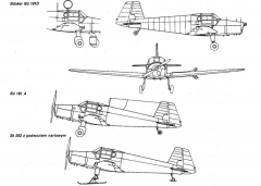 bu181 1 3v model airplane plan