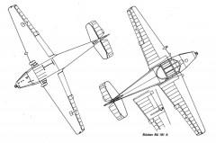 bu181 2 3v model airplane plan