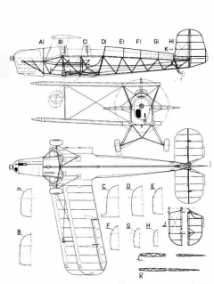 bu 131 1 3v model airplane plan