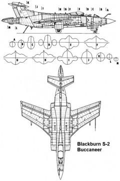 buccaneer 1 3v model airplane plan