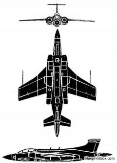buccaneer 2 model airplane plan