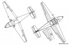 bucker bu 181bestmann 2 model airplane plan