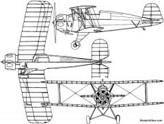 buckerbu 133 jungmeister model airplane plan