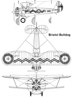 bulldog 3v model airplane plan