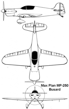 busard 3v model airplane plan