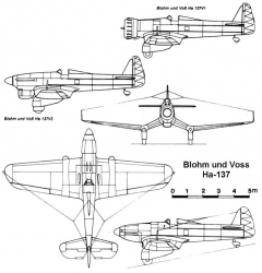 bv137 3v model airplane plan