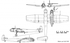 bv141 3v model airplane plan
