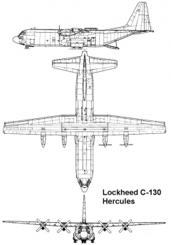 c130 3v model airplane plan
