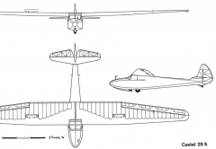 c25s 3v model airplane plan