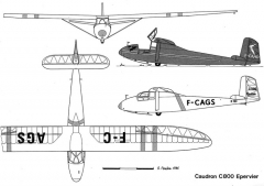 c800 3v model airplane plan