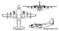 c 123 provider model airplane plan
