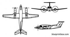 c 12 super king air model airplane plan