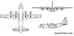 c 130 hercules model airplane plan