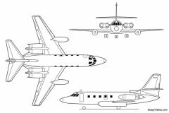 c 140 jetstar model airplane plan
