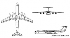 c 141b starlifter model airplane plan
