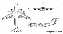 c 17a globemaster iii model airplane plan