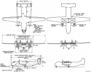 c 2 2 model airplane plan