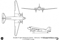 c 47 model airplane plan