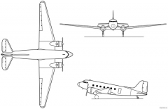 c 47 skytrain model airplane plan