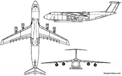 c 5b model airplane plan