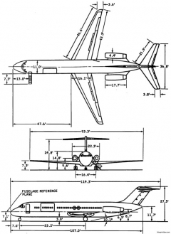 c 9 model airplane plan