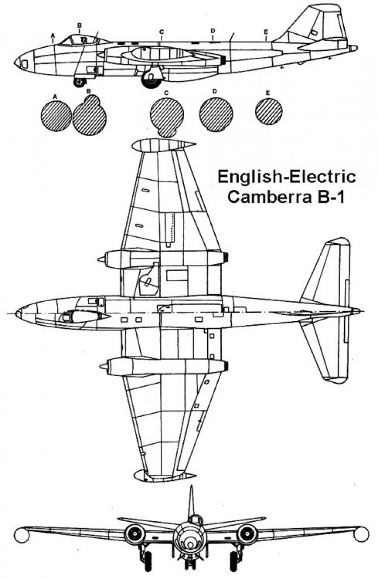 camberra 3v model airplane plan
