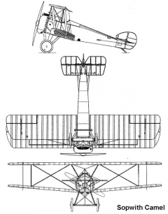 camel 2 3v model airplane plan