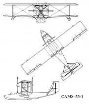 cams53 3v model airplane plan