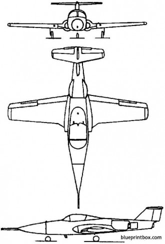 canadair cl 41 tutor 1960 canada model airplane plan